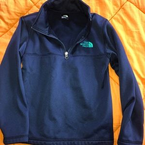North face boys zip up